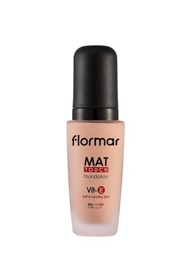 Flormar Flormar Mat Touch Foundation Medium Beige Fondöten  M313 Ten